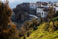 Aliano, Basilicata, Italië Stock Afbeelding