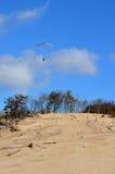 Aliante di para della spiaggia Fotografia Stock Libera da Diritti