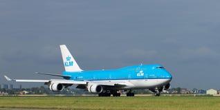Alianza de KLM Foto de archivo libre de regalías