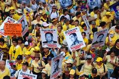 Alianza de la gente para la democracia Foto de archivo