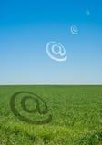 Alias e-mail royalty-vrije illustratie