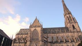 Alias Kathedrale Mariä-Empfängnis-Dom der Neuer der Unbefleckten Empfängnis Dom in Linz Oberösterreich stock footage