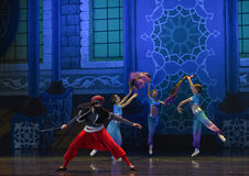 """Alibaba and the Forty Thieves- ballet """"One Thousand and One Nights"""" Stock Photo"""
