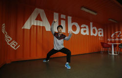 Alibaba grupp Royaltyfria Foton