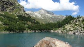 Alibek lake. Lake alibek in caucasus mountains Stock Photo
