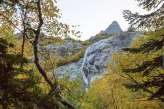 The Alibek waterfall Stock Photos