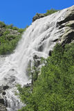 Alibek waterfall. Dombay Stock Photos
