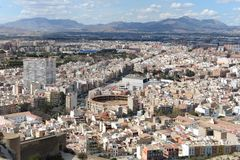 Alicante � the city in the Valensiysky Autonomous Region Stock Photography