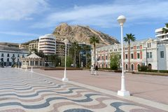 Alicante � the city in the Valensiysky Autonomous Region Royalty Free Stock Image