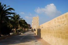 Alicante. Street of Alicante, Costa Blanca in Spain royalty free stock images