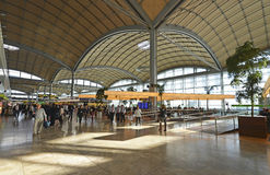Alicante Airport Stock Photo