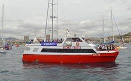 Alicante al transbordador de Tabarca Foto de archivo libre de regalías