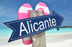 Alicante arrow Stock Photo