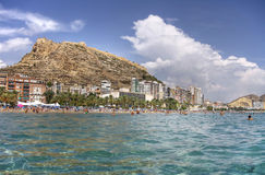 Alicante beach Stock Photo