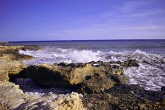 Alicante, Torrevieja, Beach, Mediterranean Sea Stock Photography