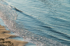 Alicante beach waves Stock Photo