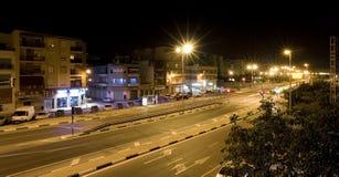 Alicante bis zum Night stockbild