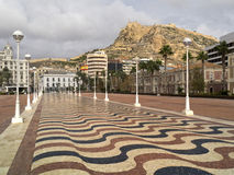 alicante blanca-costa spain Royaltyfria Foton