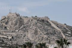 A Castle - Santa Barbara Castle Alicante Royalty Free Stock Photos