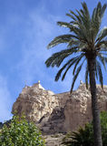 Alicante Castle - Costa Blanca - Spain. Alicante Castle high above the city of Alacante on the Costa Blanca in southern Spain Royalty Free Stock Images