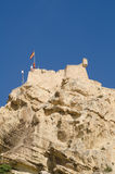 Alicante castle Royalty Free Stock Photos