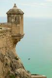 Alicante castle Royalty Free Stock Photos