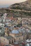 Alicante city Royalty Free Stock Image
