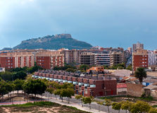 Alicante city center. Costa Blanca. Spain Stock Image