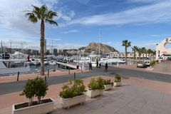 Alicante. City landscape. Stock Images
