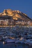 Alicante city Royalty Free Stock Photos