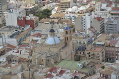 Alicante city Royalty Free Stock Photography