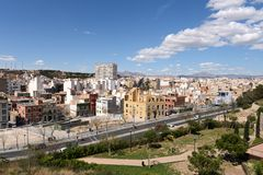 Alicante - the city in the Valensiysky Autonomous Region Royalty Free Stock Photos