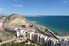Alicante - the city in the Valensiysky Autonomous Region Stock Photo
