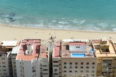 Alicante - the city in the Valensiysky Autonomous Region Stock Image