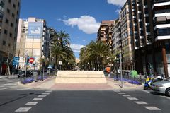 Alicante - the city in the Valensiysky Autonomous Region Stock Images