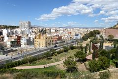 Alicante - the city in the Valensiysky Autonomous Region Royalty Free Stock Images