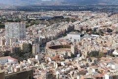 Alicante - the city in the Valensiysky Autonomous Region Royalty Free Stock Photo