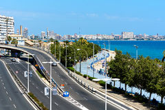 Alicante cityscape Royalty Free Stock Images