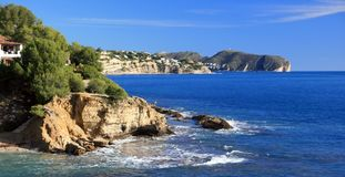 Alicante coast Royalty Free Stock Photography