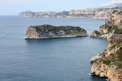 Alicante coast Stock Images