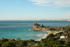 Alicante coastline Royalty Free Stock Photo