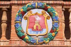 Alicante - Coat of arms stock photography