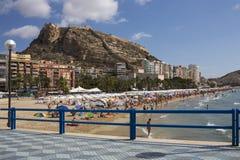 Alicante - Costa Blanca - Spanje stock afbeeldingen