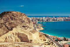 Alicante Costa Blanca Royalty Free Stock Photography