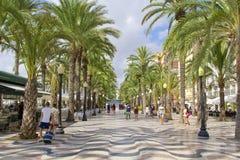 Alicante, España Imagen de archivo libre de regalías