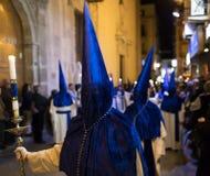 Alicante, España 25 de marzo de 2016 Procesión de Pascua Fotos de archivo