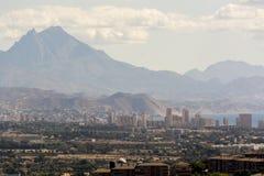Alicante España que parece del norte Imagen de archivo libre de regalías