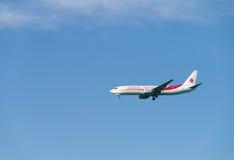 Aeroplande d'Air Algerie Images libres de droits