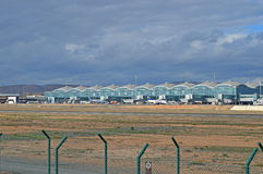 Alicante-Flughafen Lizenzfreie Stockfotografie