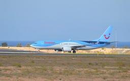 Alicante flygplats Royaltyfria Bilder